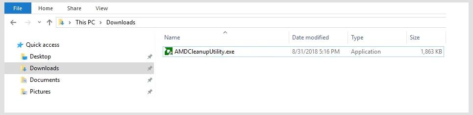 Viewing AMD Clean Uninstall Utility v2 0 32bit - OlderGeeks