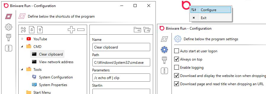 Viewing Biniware Run v1 8 0 0 - OlderGeeks com Freeware