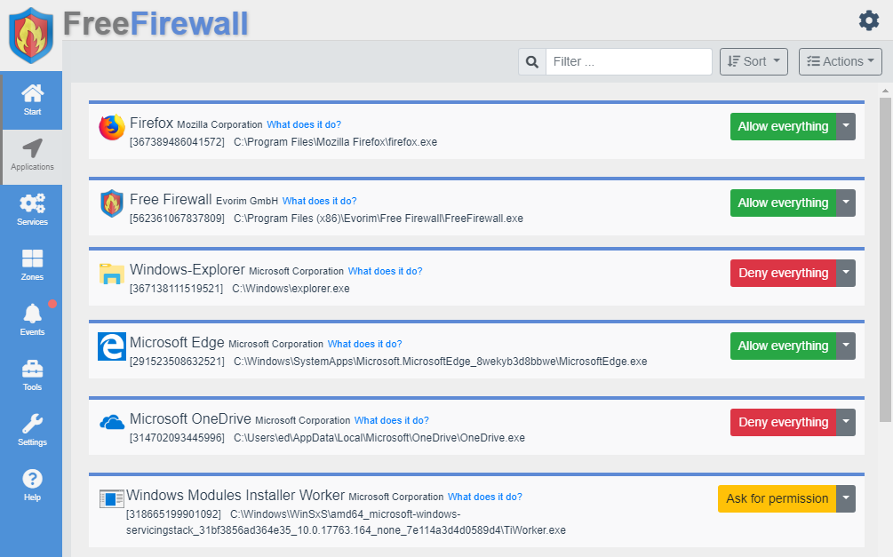Best Free Firewall Windows 7