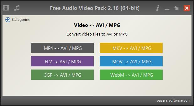 Viewing Free Audio Video Pack v2 20 64bit - OlderGeeks com