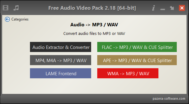 Viewing Free Audio Video Pack v2 20 64bit - OlderGeeks com