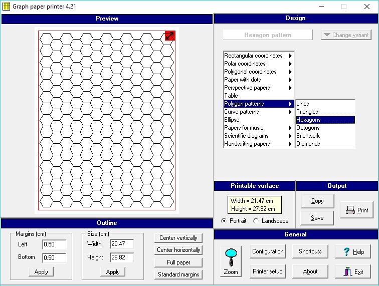 Graph Paper Printer v4.03