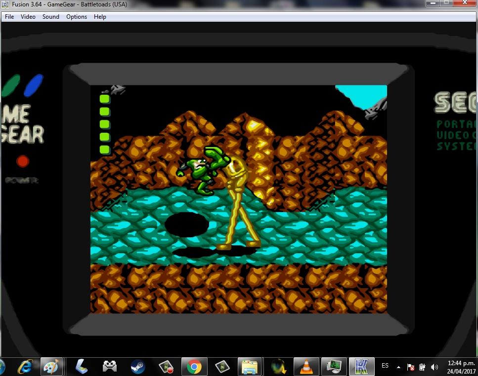 Kega sega emulator.