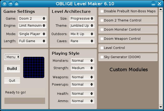 Viewing OBLIGE Level Maker v7 70 - OlderGeeks com Freeware