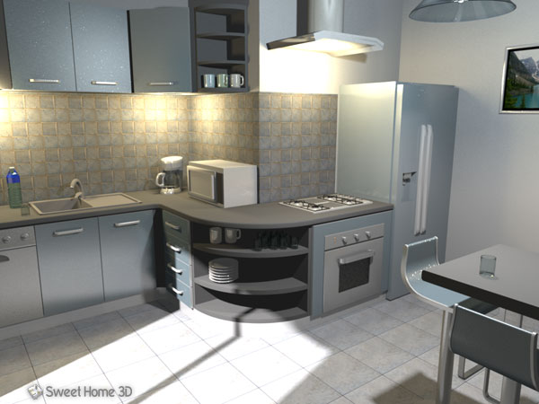 Viewing Sweet Home 3d 5 7 For Windows Oldergeeks Com