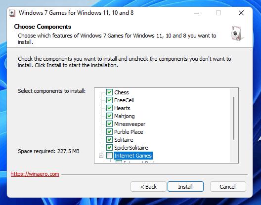 Viewing Windows 7 Games For Windows 10 v2 - OlderGeeks com Freeware
