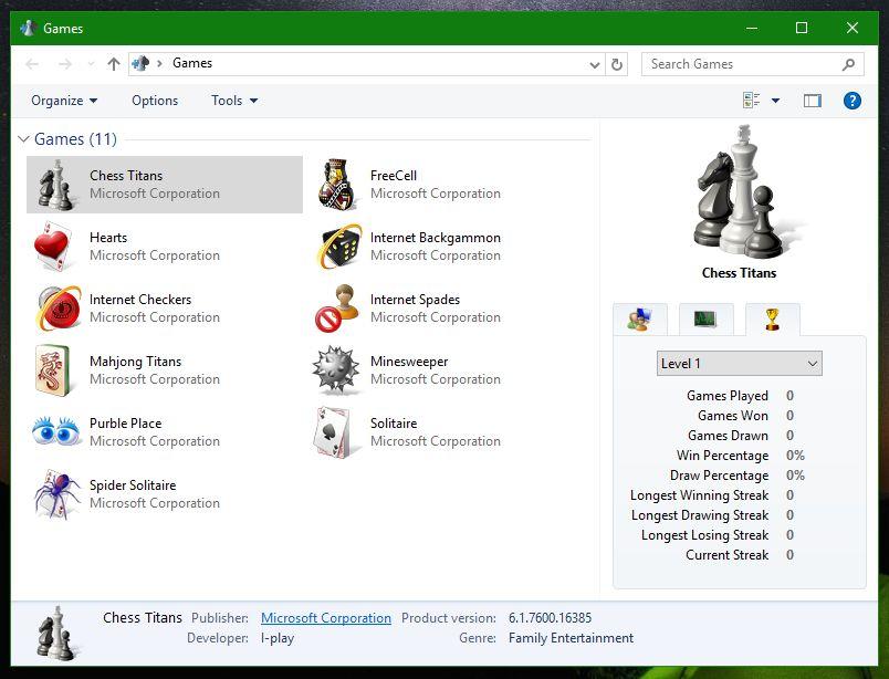 download games explorer