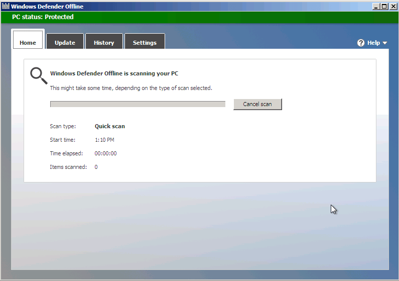 Disable or enable windows defender in windows 10.