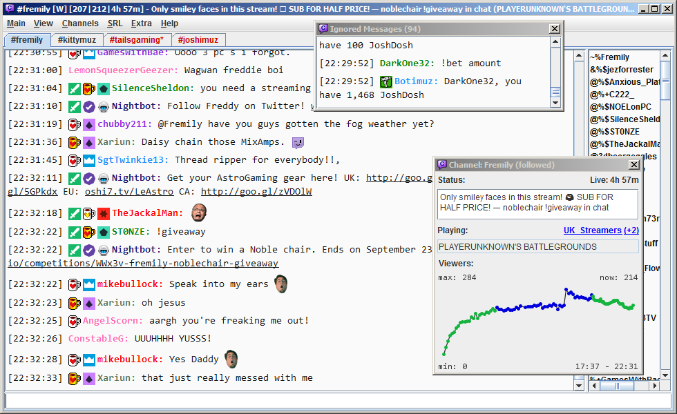 Viewing Chatty v0 9 6 - OlderGeeks com Freeware Downloads