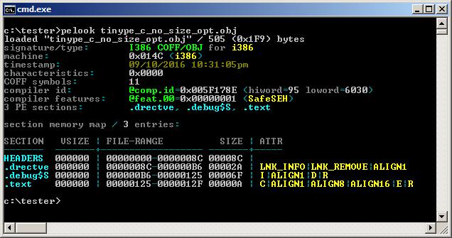 = 1.65 bytes ^ -1