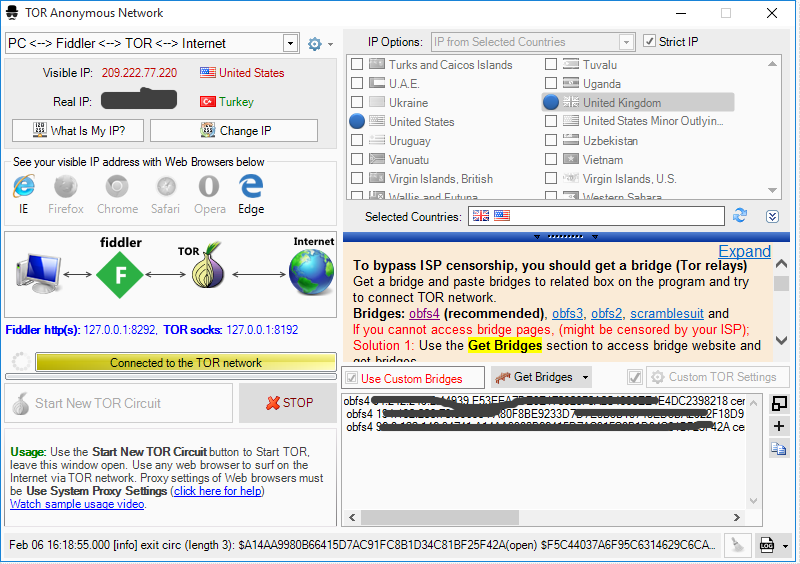 Viewing Proxy Mask - Proxy Switcher 3 4 4 - OlderGeeks com