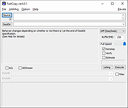 Viewing FastCopy v3 83 - OlderGeeks com Freeware Downloads