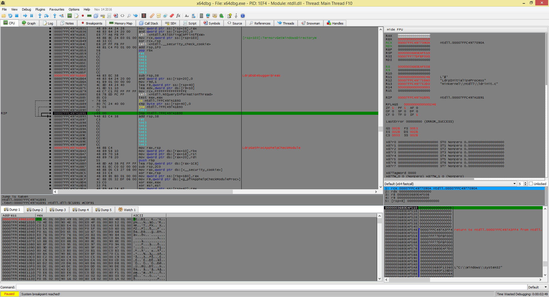 Viewing x64dbg v2019-03-28_15-04 - OlderGeeks com Freeware Downloads